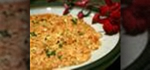 Make the traditional Iranian dish mirza gashemi