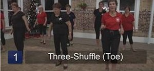 Do tap dancing shuffle combinations