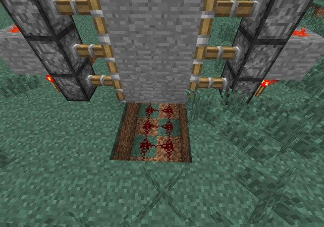 Piston Door Piston Door in Minecraft