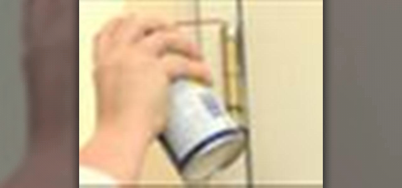 & How to Fix a squeaky door hinge « Construction u0026 Repair :: WonderHowTo