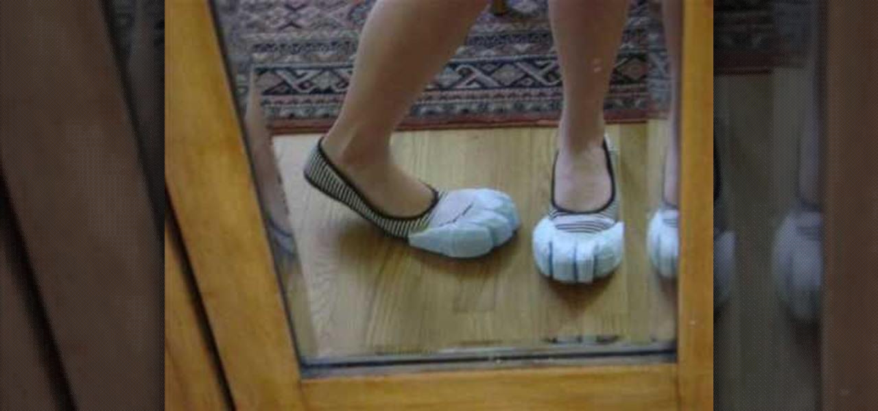 How to Make bunny rabbit feet for Alice in Wonderland cosplay ...