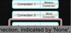 Connect your Nintendo Wii to a wireless network