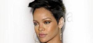 Create an easy Rihanna inspired bronze makeup look