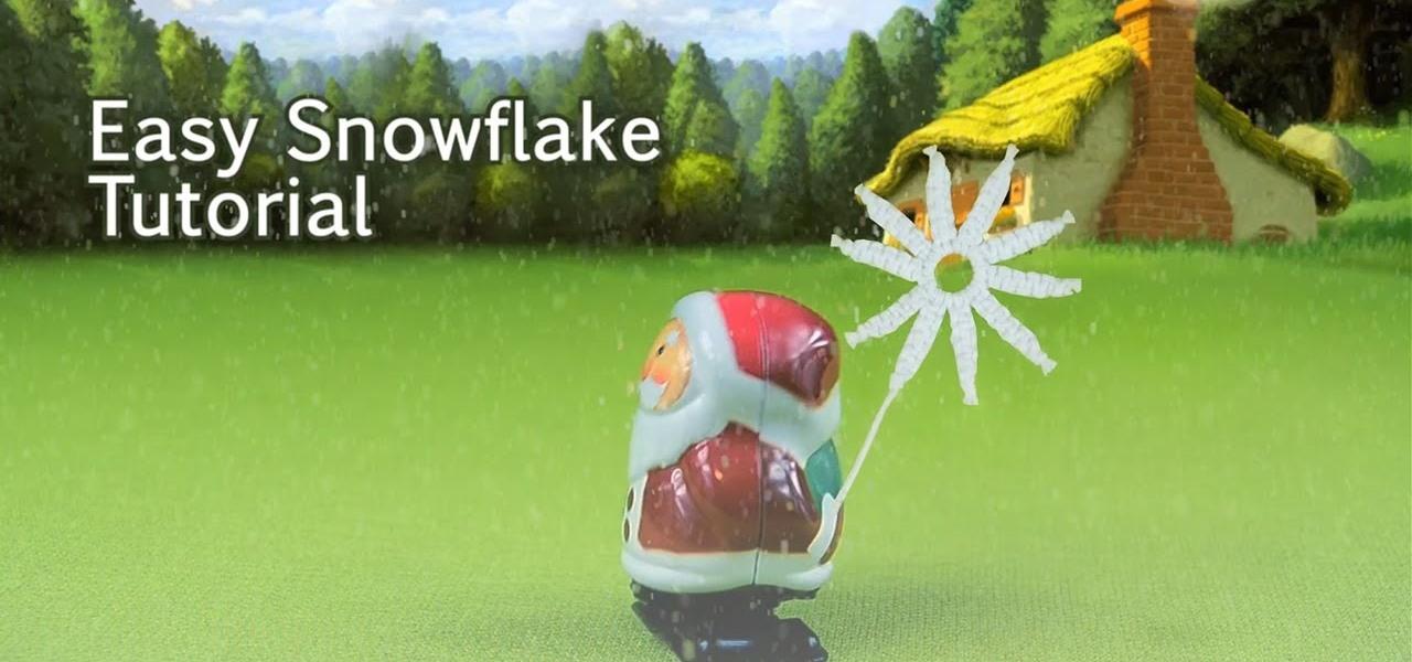 Easy Snowflake Tutorial