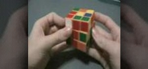Solve the Rubik's Cube F2L with the Fridrich Method