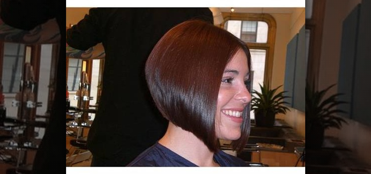 Beautiful Deep Blonde Hair Color Gives This Stacked Bob Hairstyle The Chic That Cannot Be Matched By Any Other Hairdo