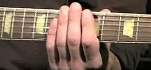 Train your fingers to rock on guitar