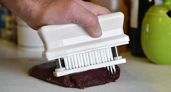 Food Tool: Jaccard Beats All Other Meat Tenderizers