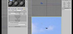 Create a sky in 3D Studio Max 9