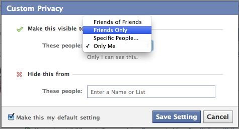 Fix your facebook post settings.