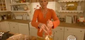 Make cream cheese flan with Sandra Lee
