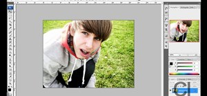 Make an image black & white in Photoshop