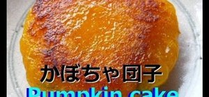 Make Japanese pumpkin cake