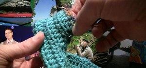 Crochet a baby booty