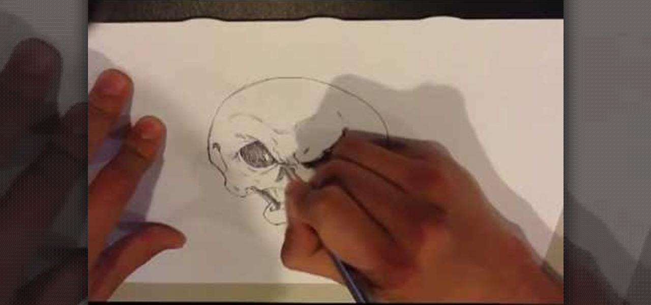 Draw a Cartoon Skull