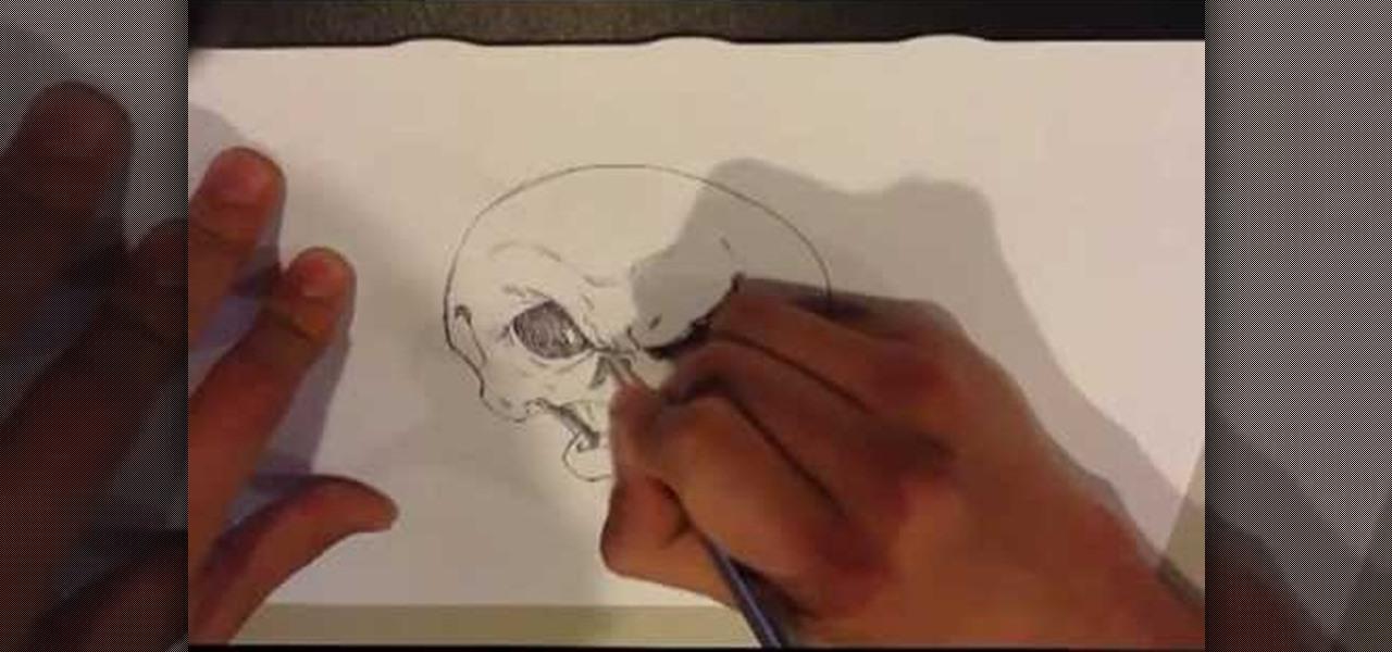 Draw a Cartoon Skull
