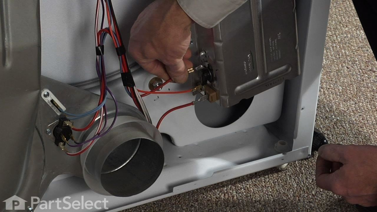 How to Replace the Dryer's High Limit Thermostat