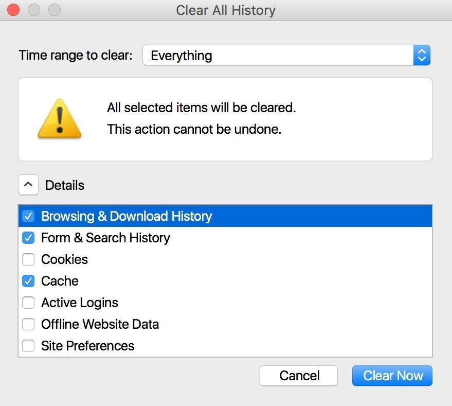 How to Clear Your Web Browsing History in a Hurry