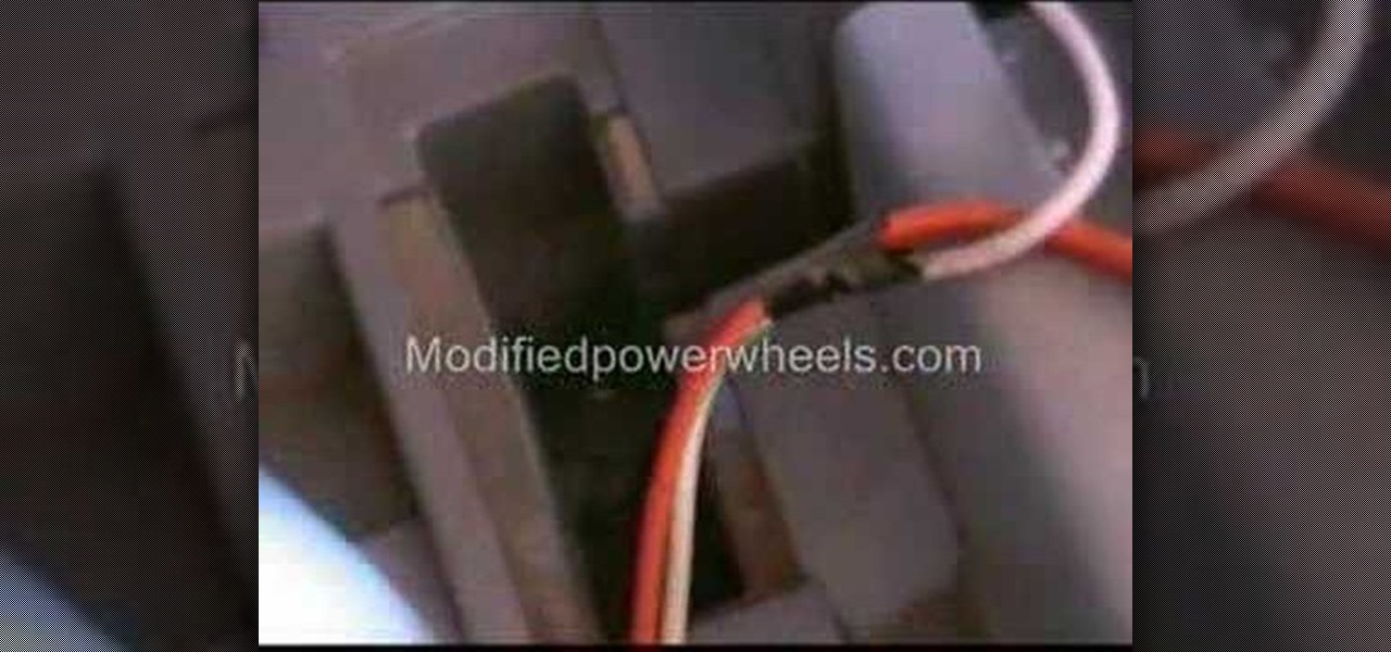 How To Upgrade The Power In A Power Wheels Dune Beetle Yard Equipment Wonderhowto