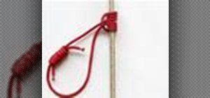 Tie the Prusik Knot or Triple Sliding Hitch Knot