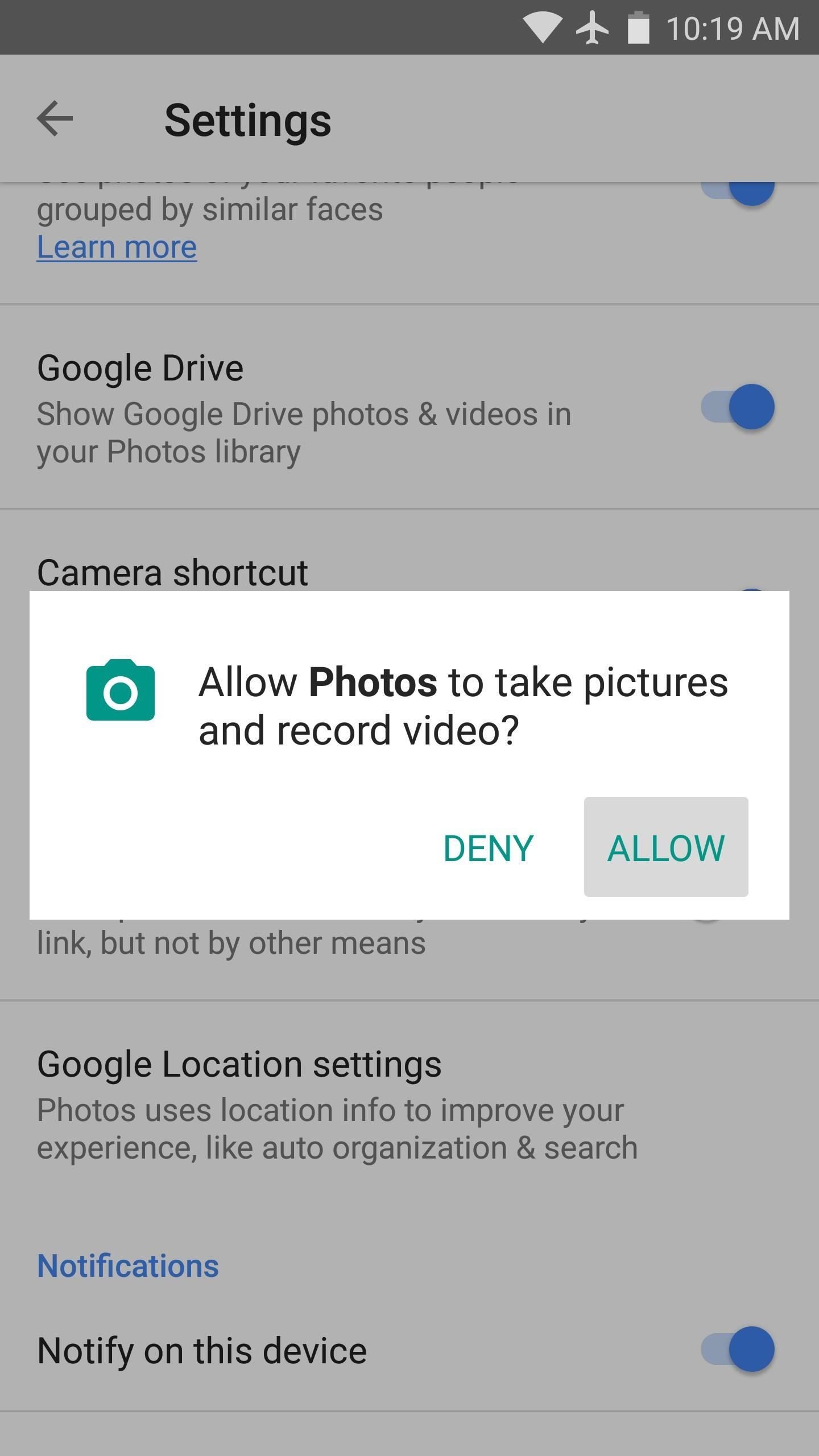 How to Add a Google Photos Shortcut to Your Android's Camera App