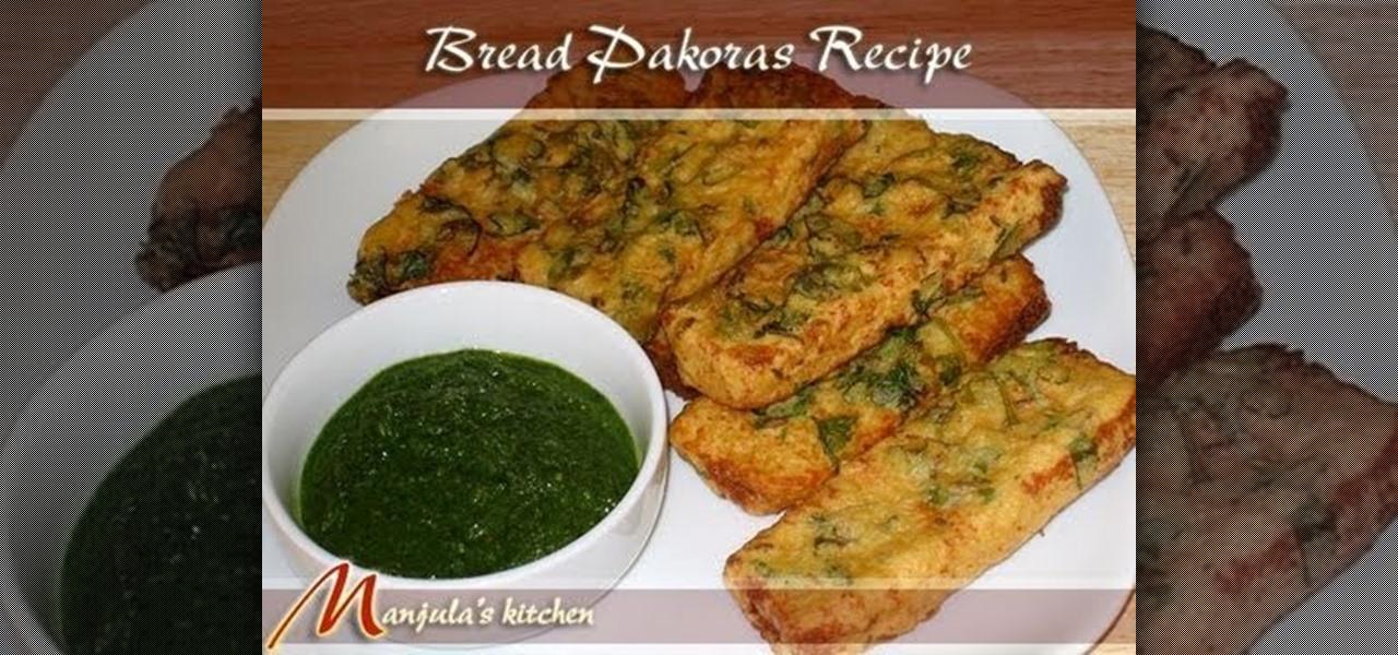 How to make indian bread pakora with manjula breadmaking how to make indian bread pakora with manjula breadmaking wonderhowto forumfinder Image collections