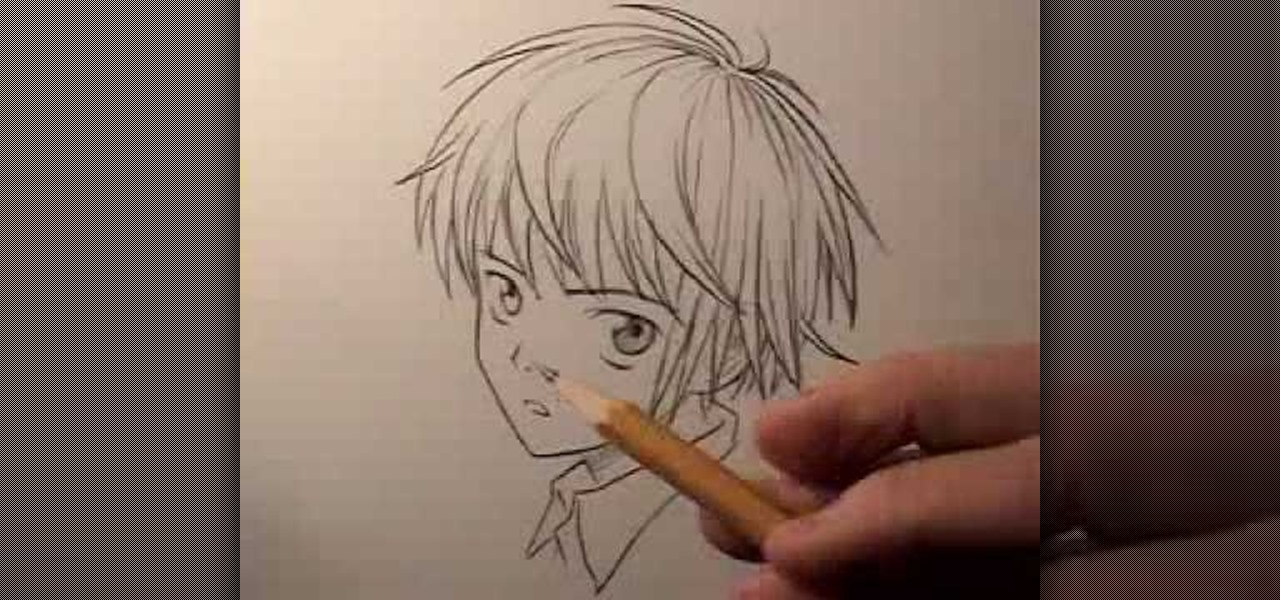 How To Draw A Boy Or Male Teenager In The Manga Style