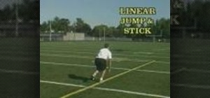 Practice Jump & Stick football drills