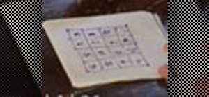 Use the Easy Magic Square trick to prank people into thinking you're a genius