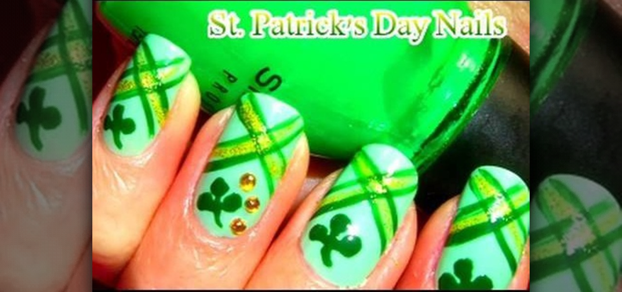 How to Paint St. Patrick\'s Day nail art « Nails & Manicure ...