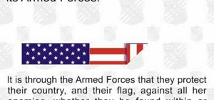 Fold an American flag in the traditional fashion