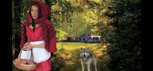 Make a Little Red Riding Hood Halloween costume for $1
