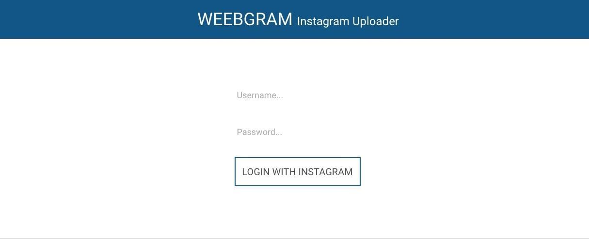 How to Upload Instagram Photos Straight from Your Computer