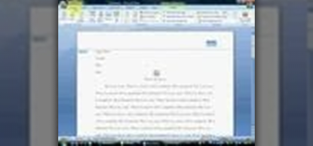 How to set your essay to mla format in ms word 2007 microsoft how to set your essay to mla format in ms word 2007 microsoft office wonderhowto spiritdancerdesigns Gallery