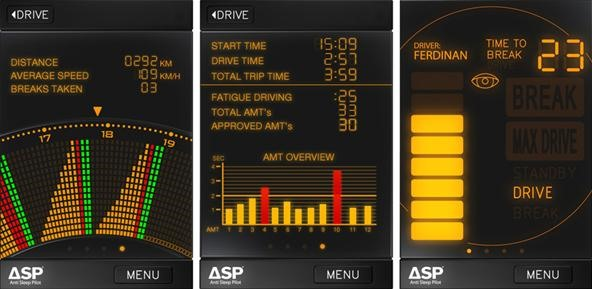 Wake Up! Anti Sleep Pilot for iPhone Helps Curb Tiredness Behind the Wheel