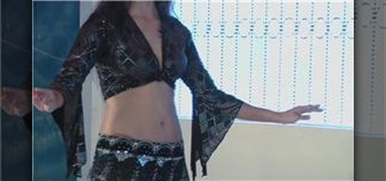 Egyptian belly dancer doing her stuff 10