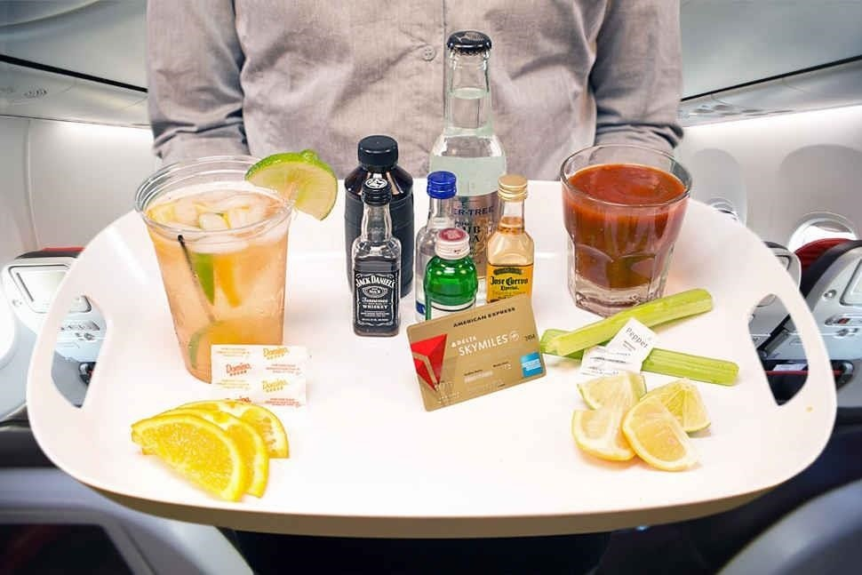 How to Make Bad Airplane Booze Taste Better (& Save Money, Too)