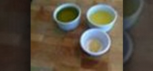 Make citronette dressing