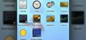 Use Gadgets in Windows 7
