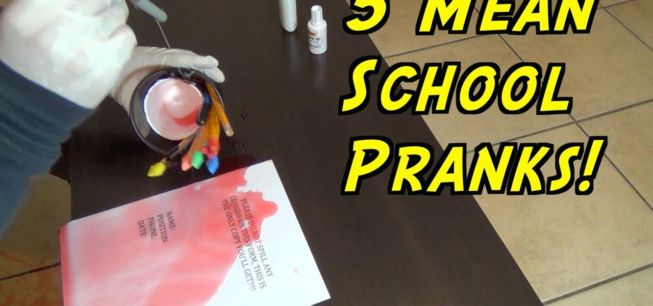5 School Mean Pranks That Never Fail!
