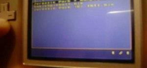 Put a Sega Genesis emulator on your R4/M3 card