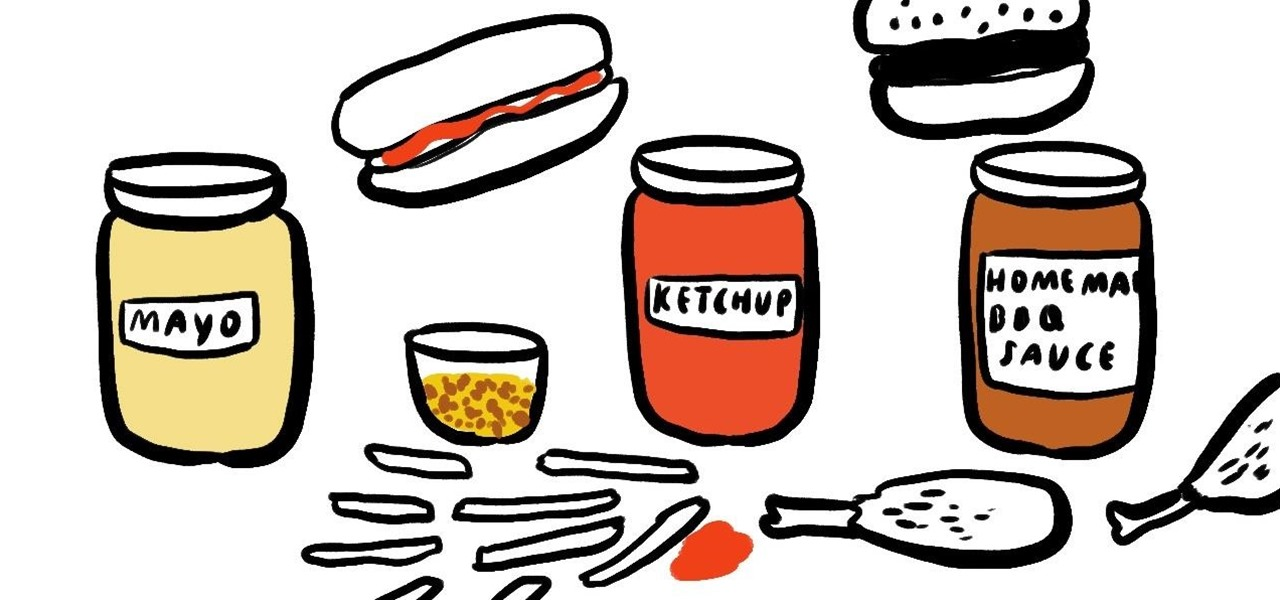 Make Homemade Ketchup, Mustard, & Other Common BBQ Condiments