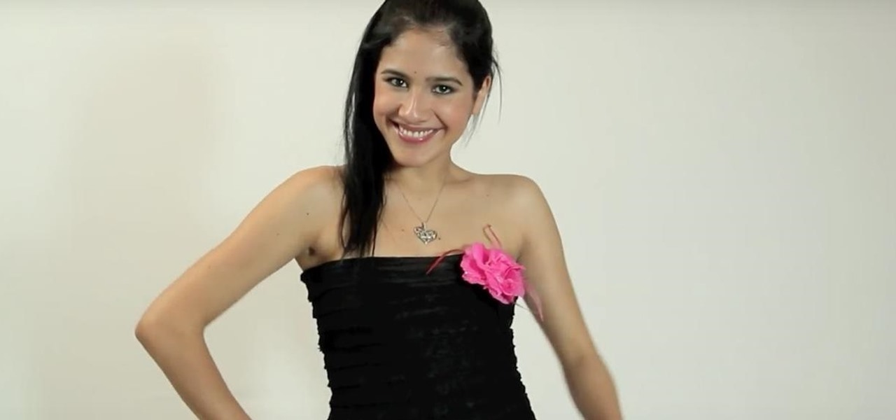 Sew Your Own Stylish Strapless Dress at Home