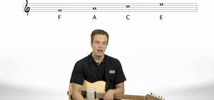 Start reading sheet music for the guitar