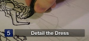 Draw a variety of prom dresses