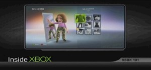 Dress up your avatar on your Xbox 360