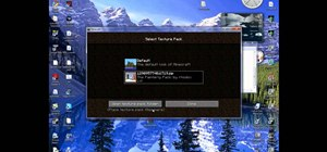 Download and install new texture packs for your Minecraft game