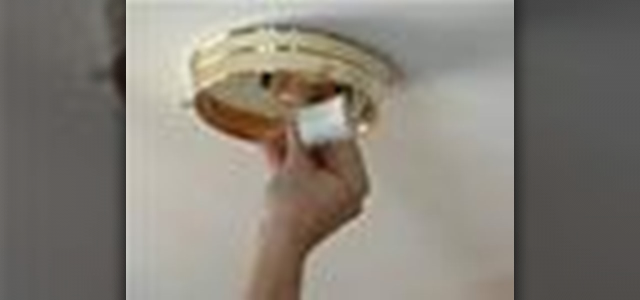 How to Replace ceiling light fixtures « Plumbing & Electric ...