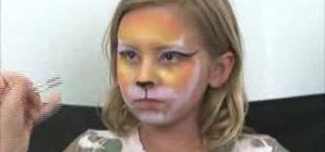 "Apply ""Tiger Girl"" face paint"
